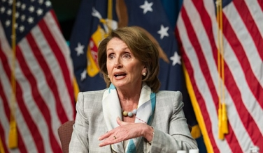 Nancy Pelosi (Official Department of Labor photo)